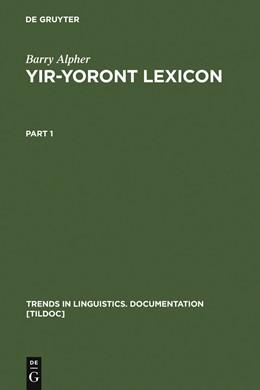 Abbildung von Alpher | Yir-Yoront Lexicon | Reprint 2011 | 1991 | Sketch and Dictionary of an Au... | 6