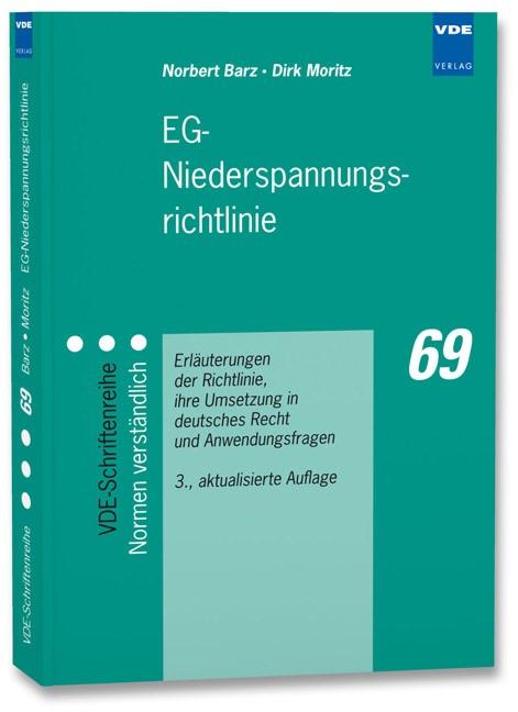 Abbildung von Barz / Moritz | EG-Niederspannungsrichtlinie | 3., aktualisierte Auflage | 2008