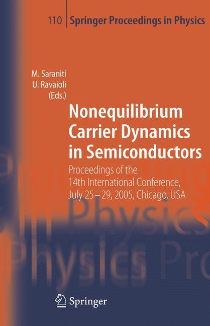 Abbildung von Saraniti / Ravaioli   Nonequilibrium Carrier Dynamics in Semiconductors   2006