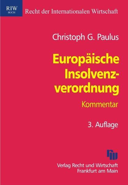 Europäische Insolvenzverordnung | Paulus | 3., aktualisierte Auflage, 2010 | Buch (Cover)