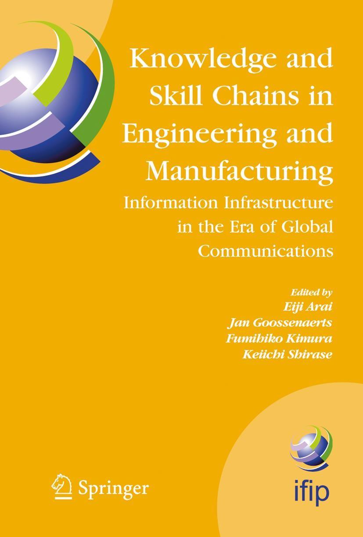 Abbildung von Arai / Kimura / Shirase | Knowledge and Skill Chains in Engineering and Manufacturing | 2004