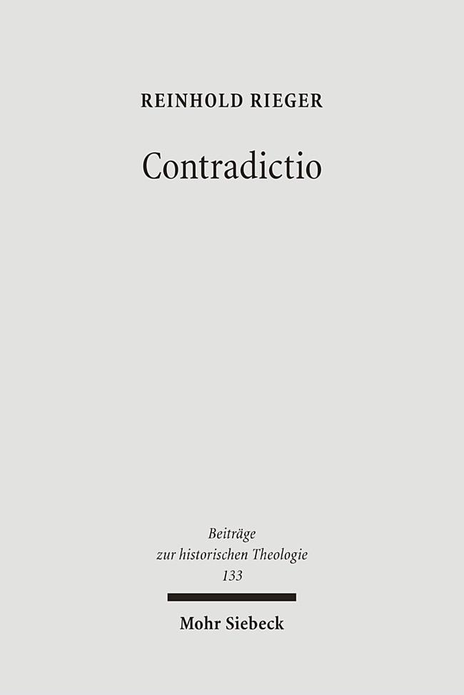 Abbildung von Rieger | Contradictio | 1., Aufl. | 2006
