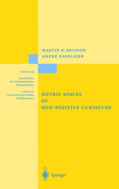 Abbildung von Bridson / Häfliger | Metric Spaces of Non-Positive Curvature | 2011