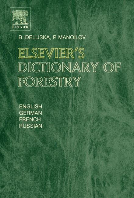 Abbildung von Delijska / Manoilov   Elsevier's Dictionary of Forestry   2004
