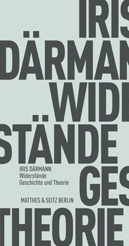 Abbildung von Därmann | Widerstände | 1. Auflage | 2021 | beck-shop.de