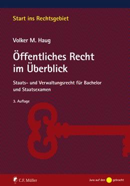 Abbildung von Haug | Öffentliches Recht im Überblick | 3. Auflage | 2021 | beck-shop.de