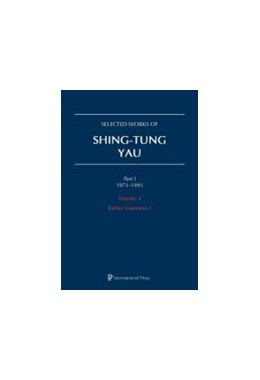 Abbildung von Selected Works of Shing-Tung Yau 1971–1991: Volume 4   1. Auflage   2019   beck-shop.de
