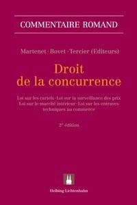 Abbildung von Tercier / Bovet / Martenet | Droit de la concurrence | 2. édition | 2013