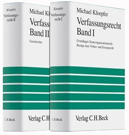 Abbildung von Kloepfer | Verfassungsrecht | | Gesamtwerk in 2 Bänden