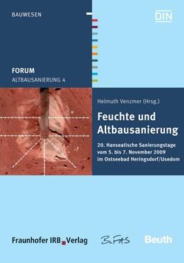 Abbildung von / Venzmer   Altbausanierung 4   2009   Feuchte und Altbausanierung 20...