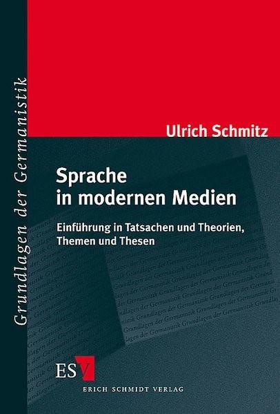 Abbildung von Schmitz | Sprache in modernen Medien | 2004