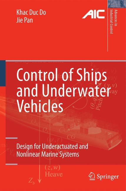 Abbildung von Do / Pan | Control of Ships and Underwater Vehicles | 2nd Printing. | 2009
