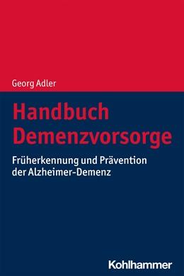 Abbildung von Adler | Handbuch Demenzvorsorge | 1. Auflage | 2021 | beck-shop.de