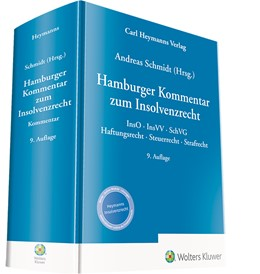 Abbildung von Schmidt   Hamburger Kommentar zum Insolvenzrecht   9. Auflage   2021   beck-shop.de