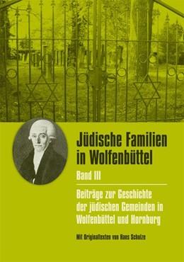 Abbildung von Kumlehn | Jüdische Familien in Wolfenbüttel 03 | 1. Auflage | 2020 | beck-shop.de
