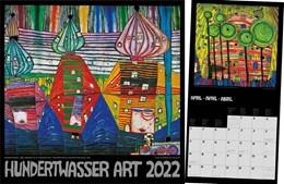Abbildung von Hundertwasser Broschürenkalender Art 2022 | 1. Auflage | 2021 | beck-shop.de