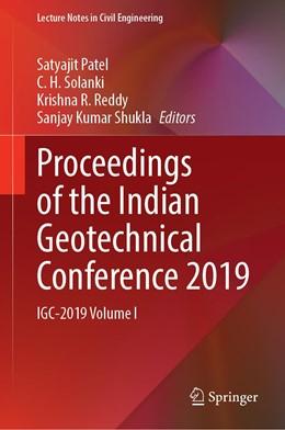Abbildung von Patel / Solanki | Proceedings of the Indian Geotechnical Conference 2019 | 1. Auflage | 2021 | 133 | beck-shop.de