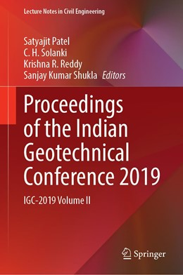 Abbildung von Patel / Solanki | Proceedings of the Indian Geotechnical Conference 2019 | 1. Auflage | 2021 | 134 | beck-shop.de