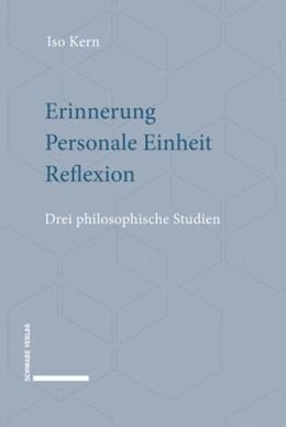 Abbildung von Iso   Erinnerung - Personale Einheit - Reflexion   1. Auflage   2020   beck-shop.de