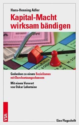 Abbildung von Adler | Kapital-Macht wirksam bändigen | 1. Auflage | 2020 | beck-shop.de