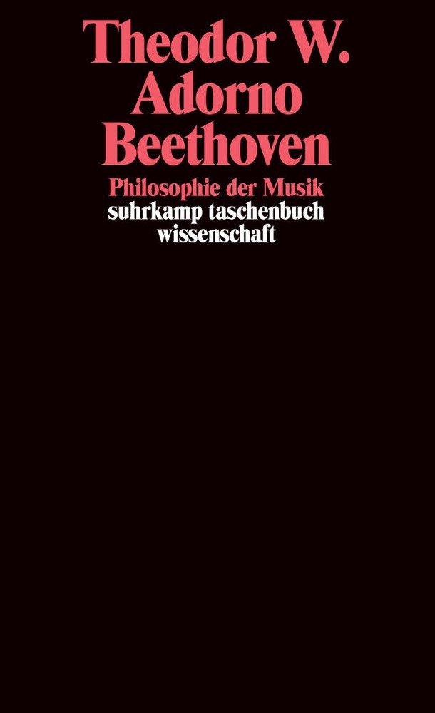 Abbildung von Adorno / Tiedemann | Beethoven. Philosophie der Musik | 2004