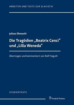 Abbildung von Slowacki | Die Tragödien