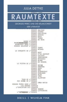 Abbildung von Dettke | Raumtexte | 1. Auflage | 2021 | beck-shop.de