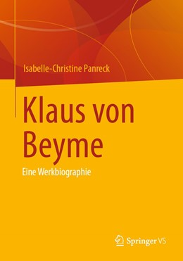 Abbildung von Panreck | Klaus von Beyme | 1. Auflage | 2021 | beck-shop.de