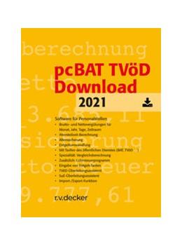 Abbildung von pcBAT TVöD Download | 1. Auflage | 2021 | beck-shop.de