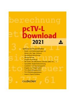Abbildung von pcTV-L Download   1. Auflage   2021   beck-shop.de