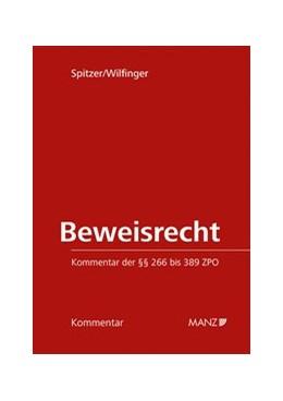 Abbildung von Spitzer / Wilfinger | Beweisrecht | 1. Auflage | 2020 | beck-shop.de