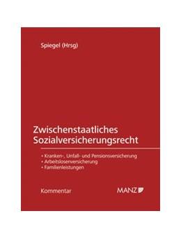 Abbildung von Spiegel | Zwischenstaatliches Sozialversicherungsrecht | 1. Auflage | 2020 | beck-shop.de