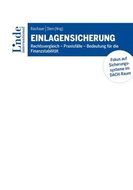 Abbildung von Raschauer / Stern | Einlagensicherung | 1. Auflage | 2021 | beck-shop.de