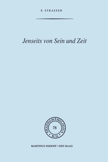 Abbildung von Strasser | Jenseits von Sein und Zeit | 1978