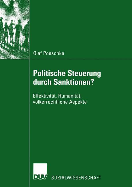 Abbildung von Poeschke | Politische Steuerung durch Sanktionen? | 2003