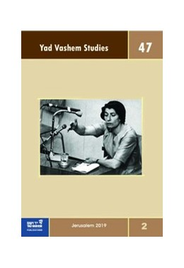 Abbildung von Silberklang   Yad Vashem Studies Vol. 47.2   1. Auflage   2020   47.2   beck-shop.de