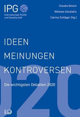 Abbildung von Detsch / Gavalakis   Ideen, Meinungen, Kontroversen   1. Auflage   2020   beck-shop.de