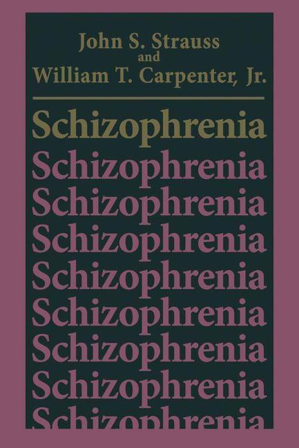 Abbildung von Strauss / Carpenter Jr | Schizophrenia | 1981