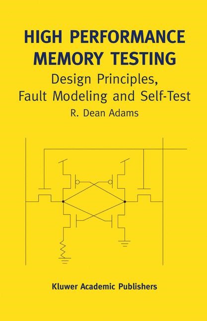 High Performance Memory Testing | Adams, 2002 | Buch (Cover)