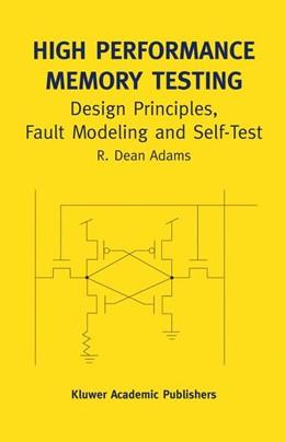 Abbildung von Adams | High Performance Memory Testing | 2002 | Design Principles, Fault Model... | 22A