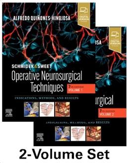 Abbildung von Quinones-Hinojosa | Schmidek and Sweet: Operative Neurosurgical Techniques 2-Volume Set | 7. Auflage | 2021 | beck-shop.de