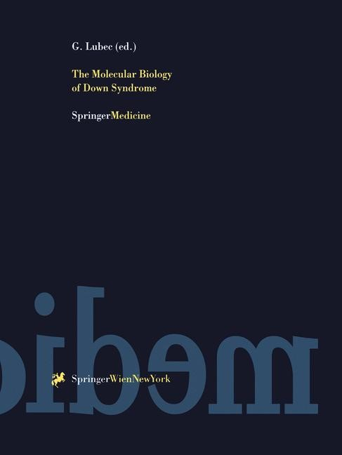 Abbildung von Lubec | The Molecular Biology of Down Syndrome | 1999