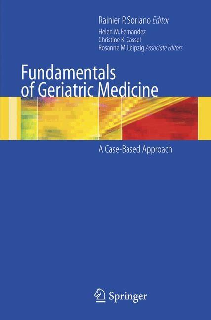 Abbildung von Soriano | Fundamentals of Geriatric Medicine | 2007