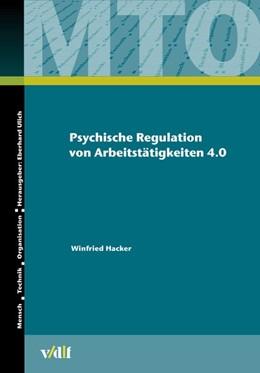 Abbildung von Hacker   Psychische Regulation von Arbeitstätigkeiten 4.0   1. Auflage   2021   beck-shop.de