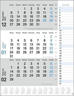 Abbildung von 3-Monats-Planer grau 2022 | 1. Auflage | 2021 | beck-shop.de