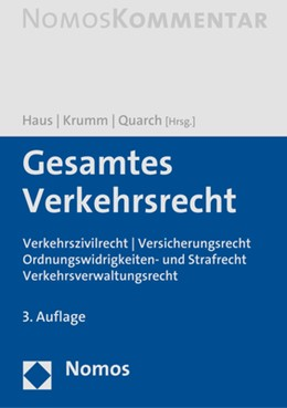 Abbildung von Haus / Krumm   Gesamtes Verkehrsrecht   3. Auflage   2021   beck-shop.de
