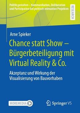 Abbildung von Spieker   Chance statt Show – Bürgerbeteiligung mit Virtual Reality & Co.   1. Auflage   2021   beck-shop.de