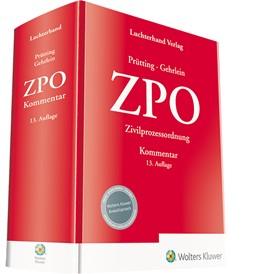 Abbildung von Prütting / Gehrlein   ZPO - Kommentar   13. Auflage   2021   beck-shop.de