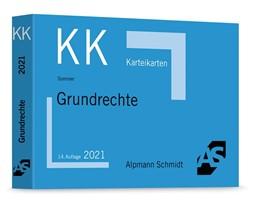 Abbildung von Sommer   Karteikarten Grundrechte   14. Auflage   2021   beck-shop.de