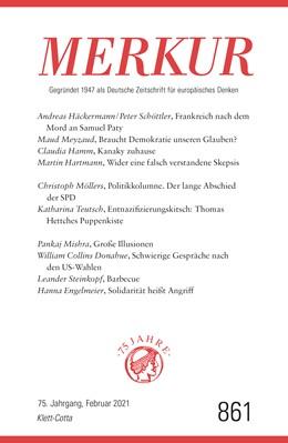 Abbildung von Demand | MERKUR Gegründet 1947 als Deutsche Zeitschrift für europäisches Denken - 2021-02 | 1. Auflage | 2021 | beck-shop.de